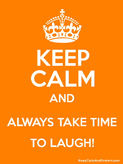Keep calm and (try) to carry on.