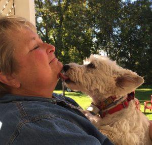 Good morning kisses, Carolynn and Duffy.